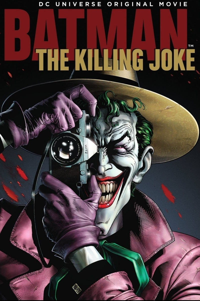 Batman: The Killing Joke (2016) [DVDRip] [Latino] [1 Link] [MEGA]