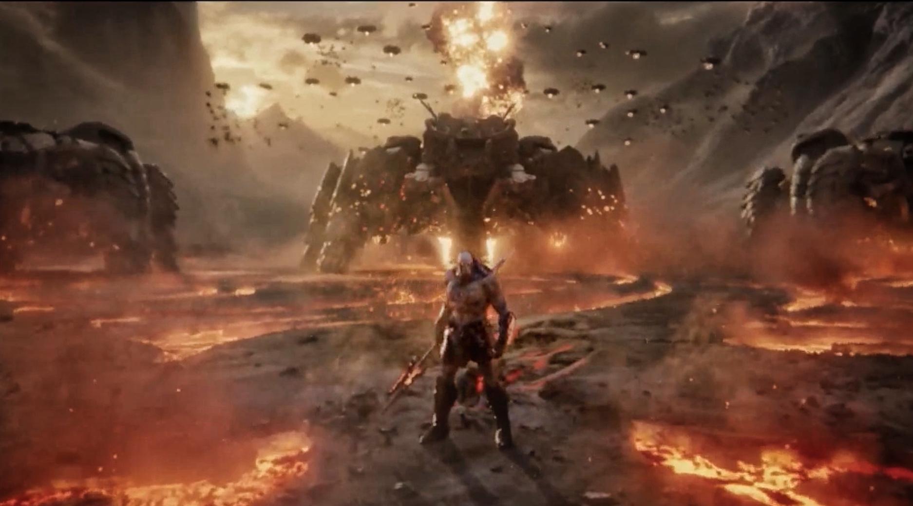 Darkseid en Zack Snyder's JUSTICE LEAGUE