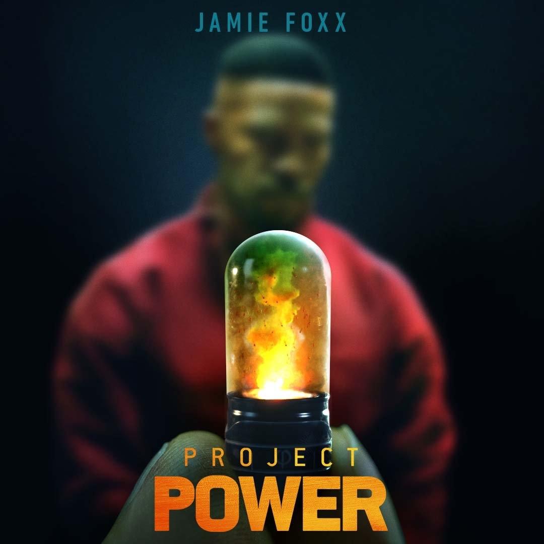 Primer póster e imágenes de PROJECT POWER