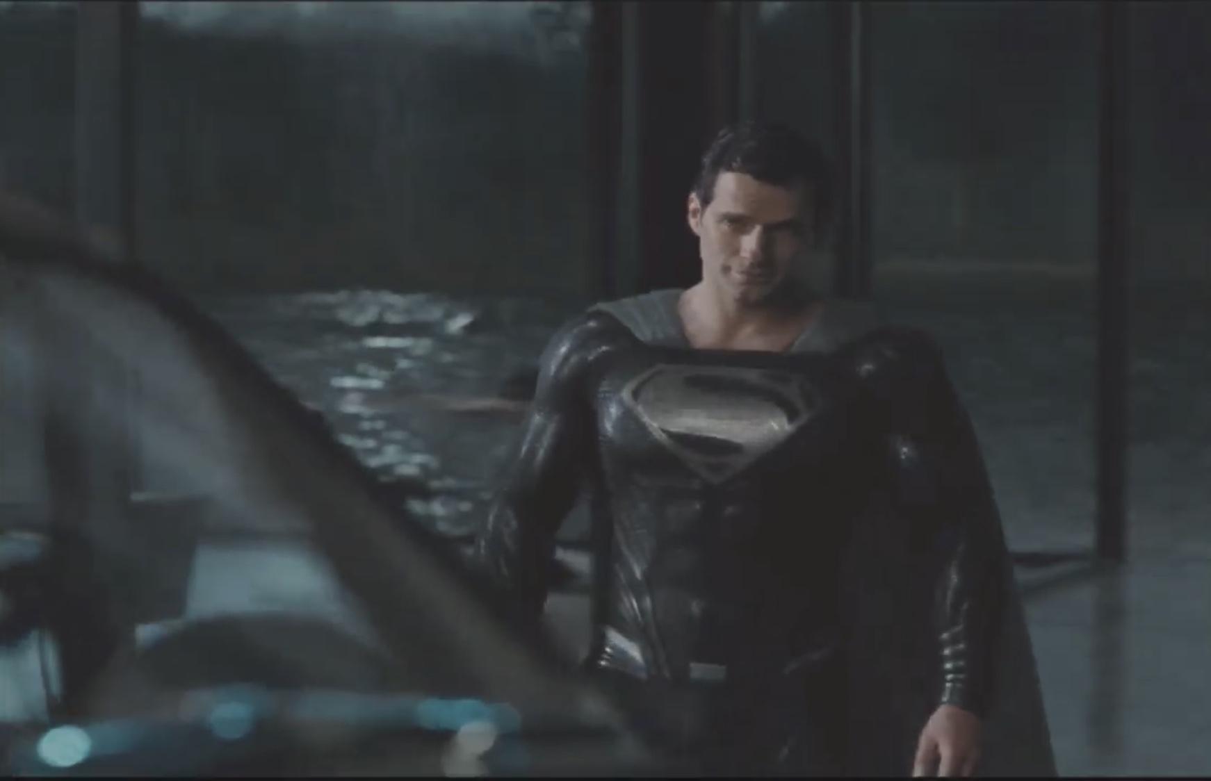 Primer vistazo del traje negro de Superman en Zack Snyder's JUSTICE LEAGUE