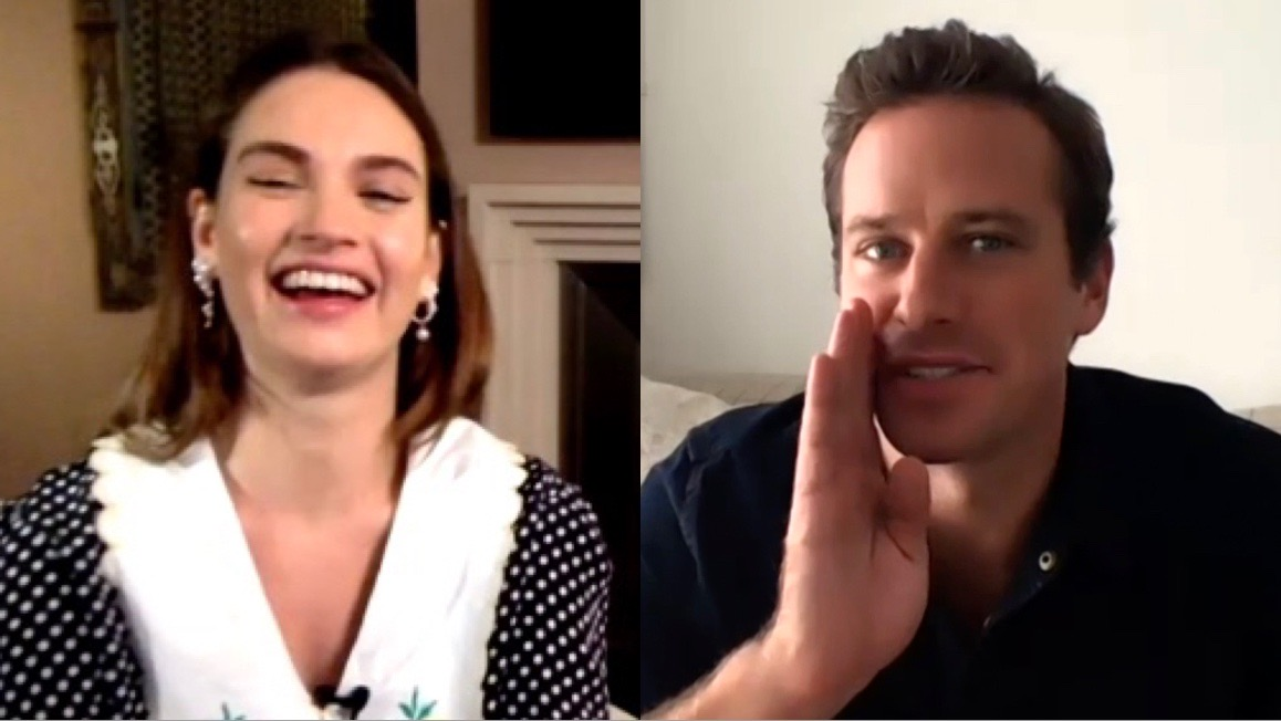 Entrevista: Lily James y Armie Hammer – Rebecca