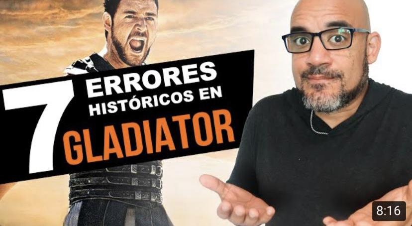 Siete errores históricos de GLADIATOR  – Profesor León