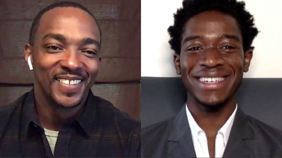 Entrevista: Anthony Mackie y Damson Idris – Outside the Wire